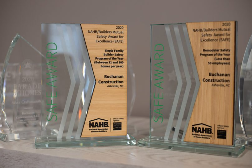 Buchanan Construction Receives 2 National Awards For Safety