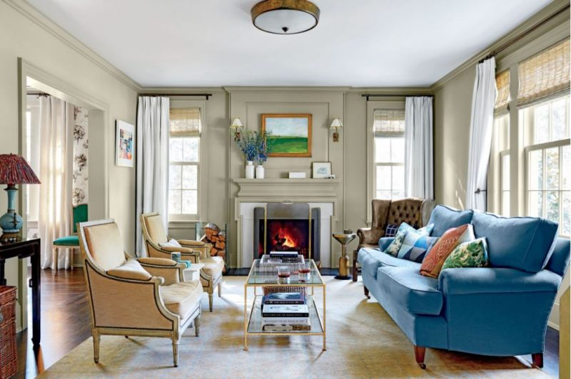 16 Calming Paint Colors to Soothe Your Southern Home